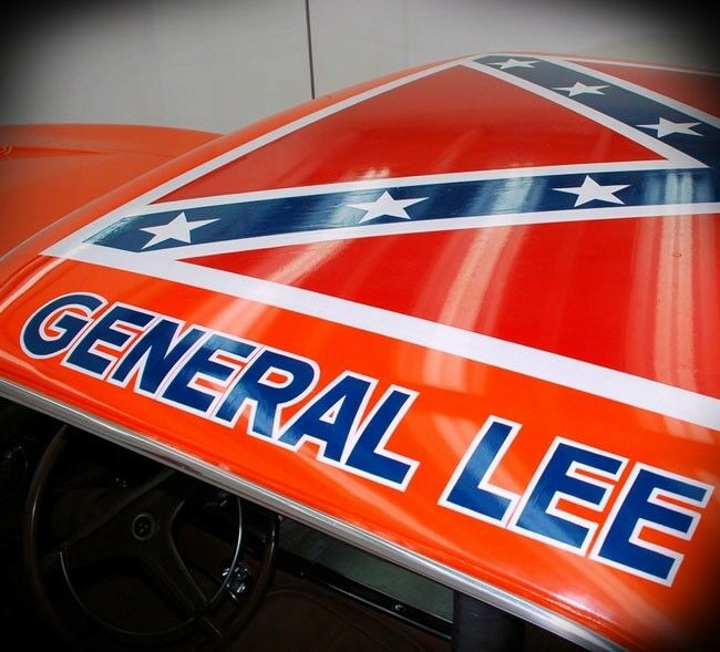 General Lee Replica Decal Sticker Dukes Of Hazzard Vehicle