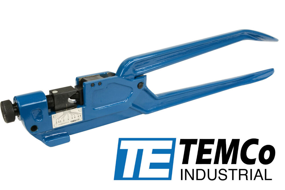 Temco Dieless Indent Lug Crimper Tool Electrical Battery
