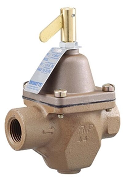 watts 1 2 pressure reducing boiler feed valve new 1156f ebay. Black Bedroom Furniture Sets. Home Design Ideas