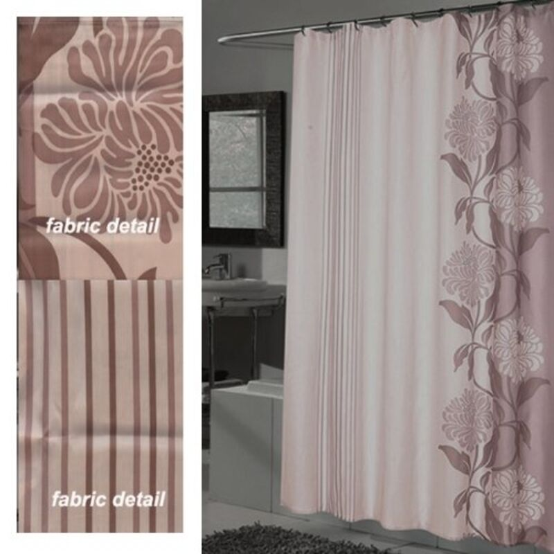 Chelsea Extra Long 100 Polyester Fabric Shower Curtain 70 X 84 Color Multi New Ebay
