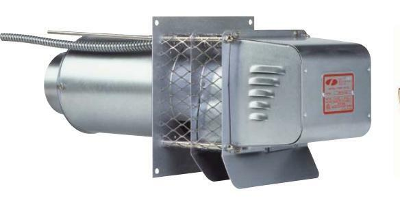 Energy Harvester Air Ventilator : Field controls swg sidewall power venter