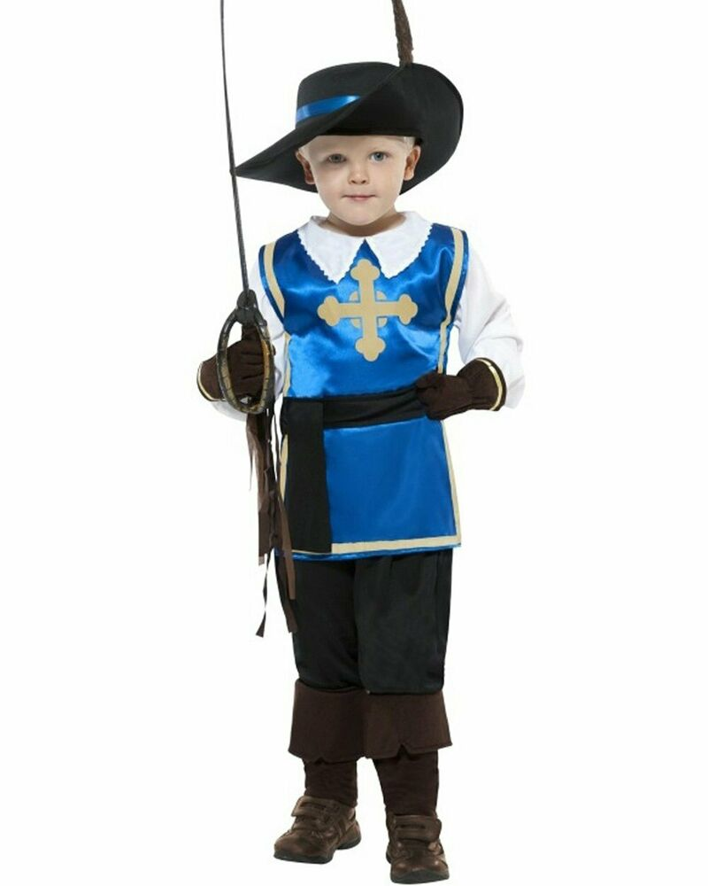 CK458 Musketeer Boys Medieval Renaissance French Cavalier ...