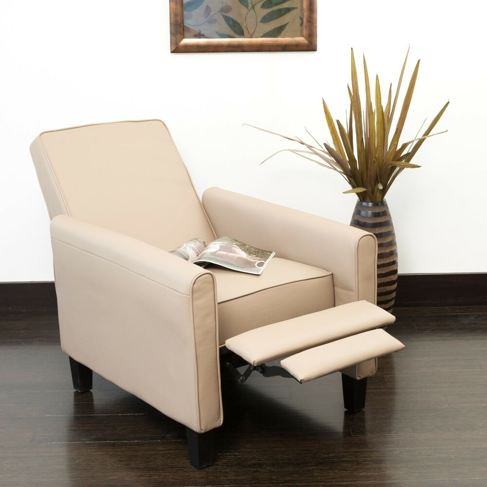 stylish chairs for living room living room contemporary camel leather recliner club chair 21458
