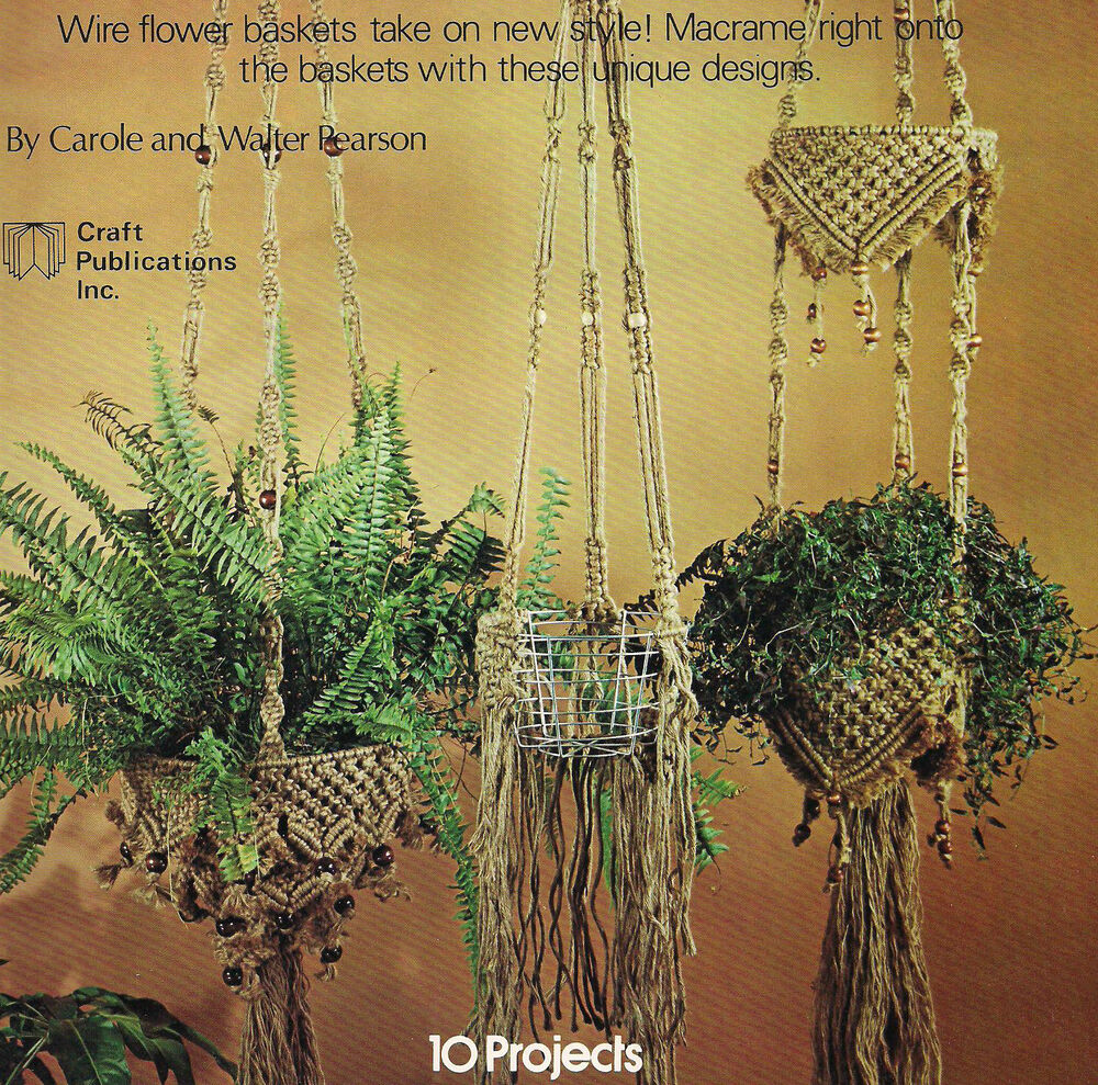 macrame plant hanger pattern books wired for macrame wine rack wallhanging lanterns plant 6946