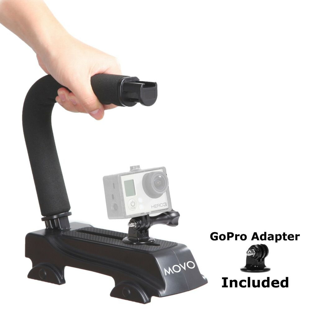 Movo Video Action Stabilizer Handle Grip For Gopro Hero