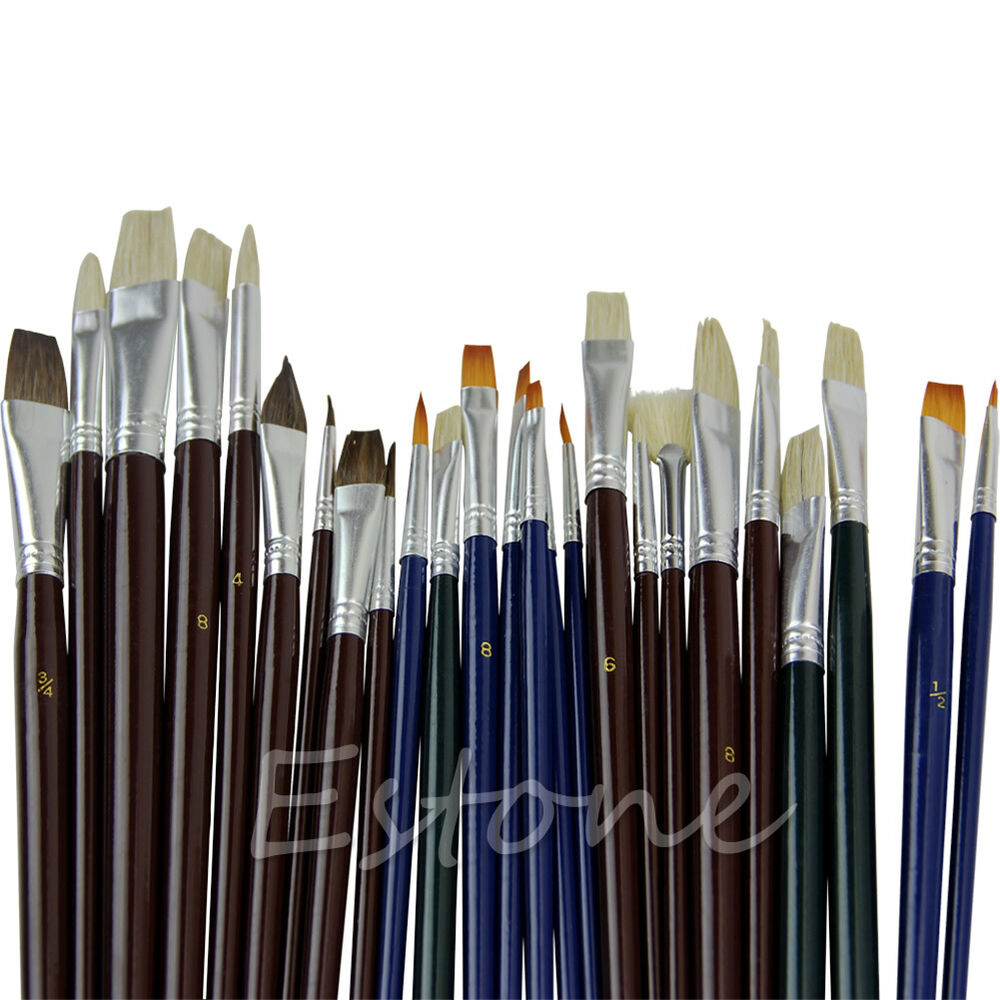 25pcs artist acrylic oil watercolors painting supplies for Acrylic mural paint supplies
