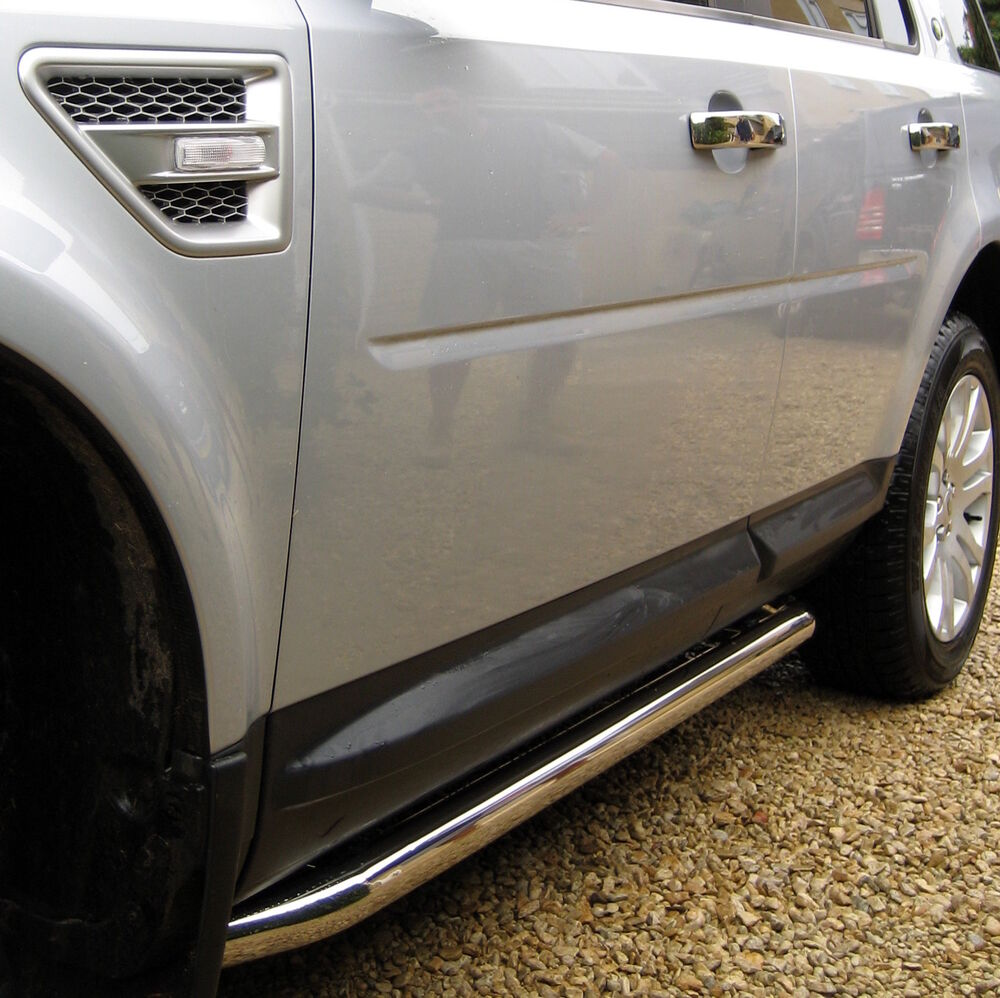 Chrome Side Bars For Land Rover New Freelander 2 Steps LR2
