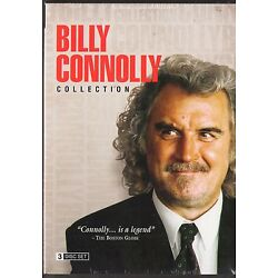 Billy Connolly Collection (3 DVDs) Scotland's funnyman  THE BIG YIN