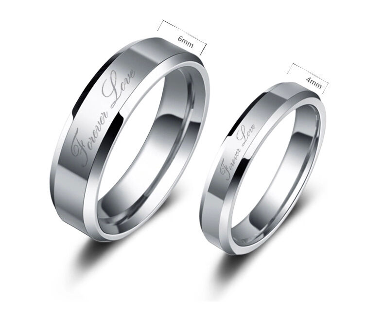 womens tungsten wedding rings tungsten carbide women or mens wedding engagement ring 1468