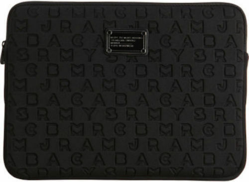 new marc by marc jacobs 15 laptop neoprene 3d dreamy logo sleeve case ebay. Black Bedroom Furniture Sets. Home Design Ideas