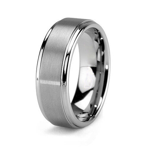 tungsten wedding rings tungsten carbide women or men wedding engagement ring band 8108