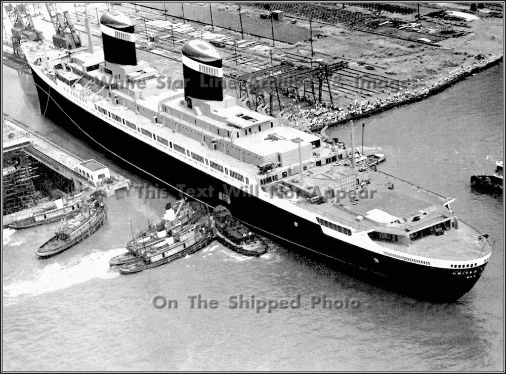 Newport (AR) United States  city photos : Poster Print SS United States Launched from Newport News Drydock 1951 ...