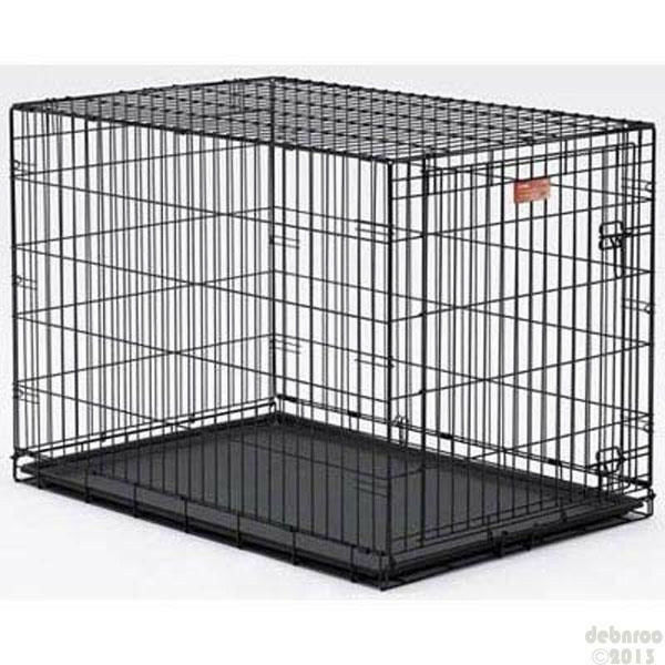 Life stages ls 1630 30lx21wx24h folding new dog crate cage ebay