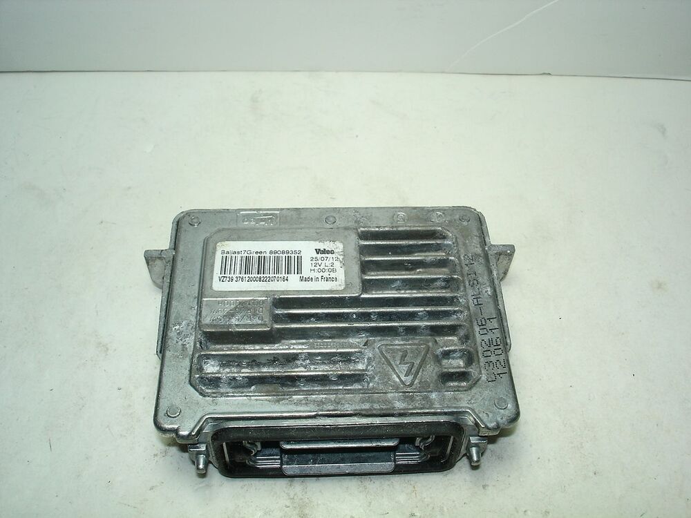 audi wiring ballast information oem 2013 2015 buick enclave xenon hid    ballast    control unit  oem 2013 2015 buick enclave xenon hid    ballast    control unit