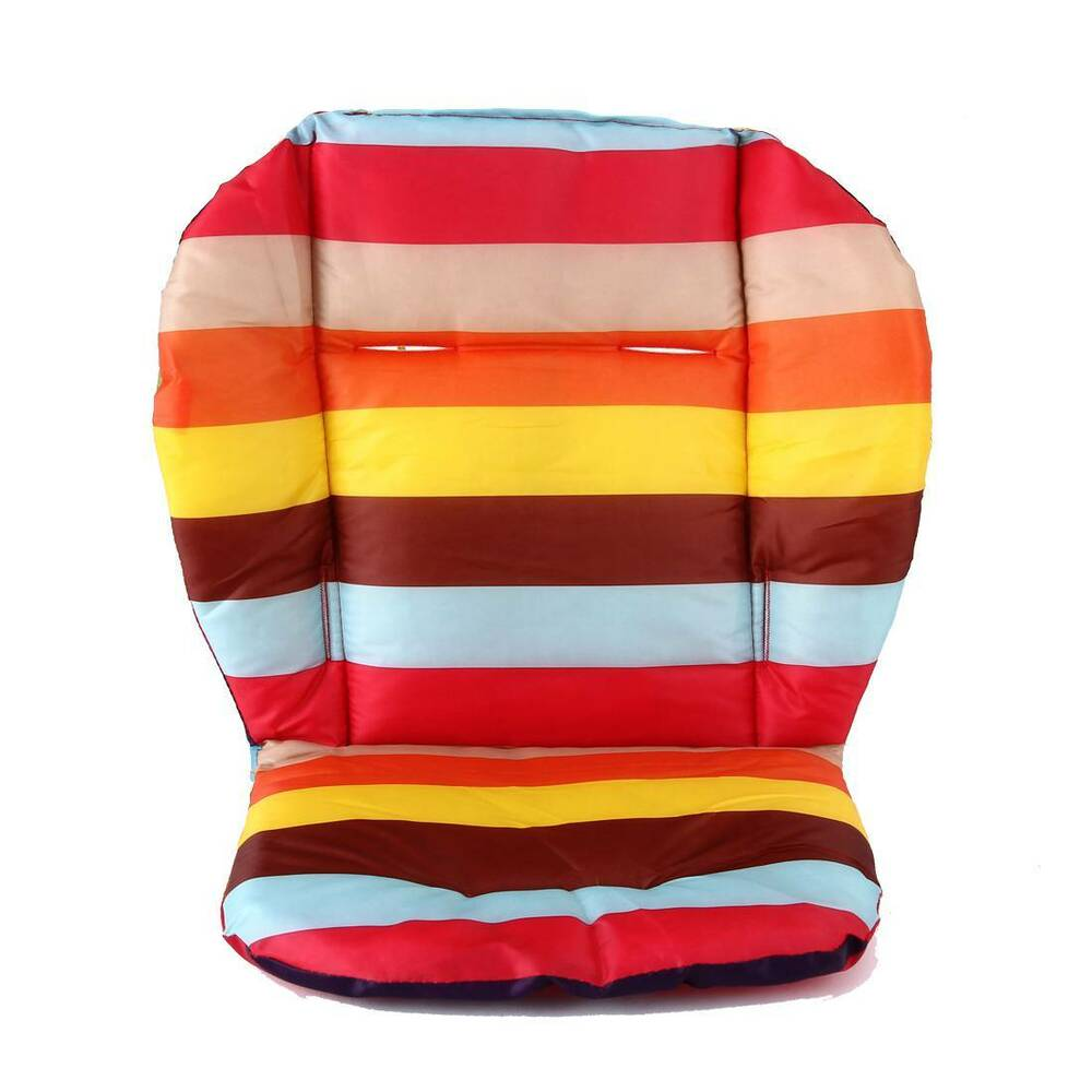 soft thick pram cushion chair car seat pad stroller for baby kids comfortable ebay. Black Bedroom Furniture Sets. Home Design Ideas