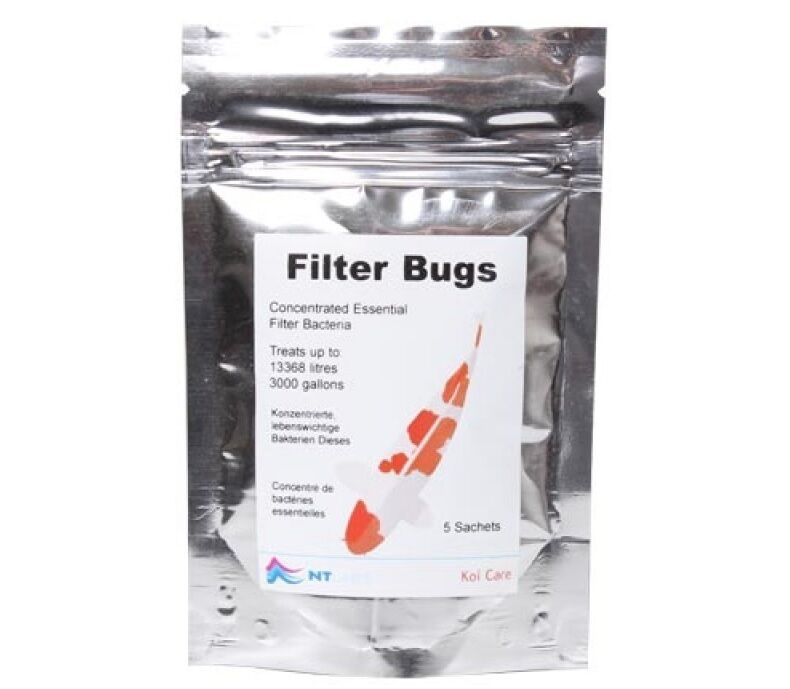 Nt labs filterbugs pond filter start koi pond fish koi for Koi fish filter