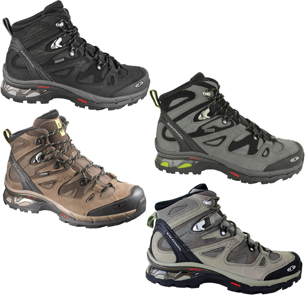 salomon comet 3d gtx herren wanderschuhe wanderstiefel trekkingschuhe schuhe ebay. Black Bedroom Furniture Sets. Home Design Ideas