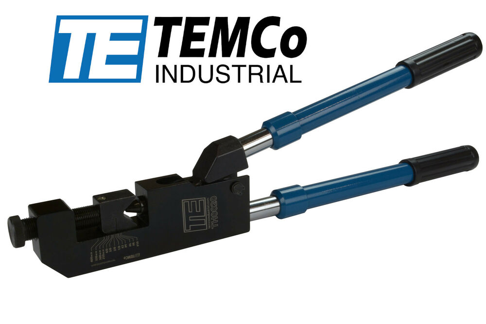 Temco Hd 10ga 400mcm Dieless Indent Lug Crimper Tool