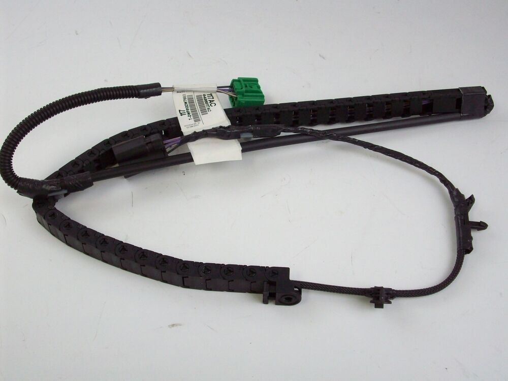 Chrysler Wiring Harness : Dodge chrysler sliding door wire track harness drivers