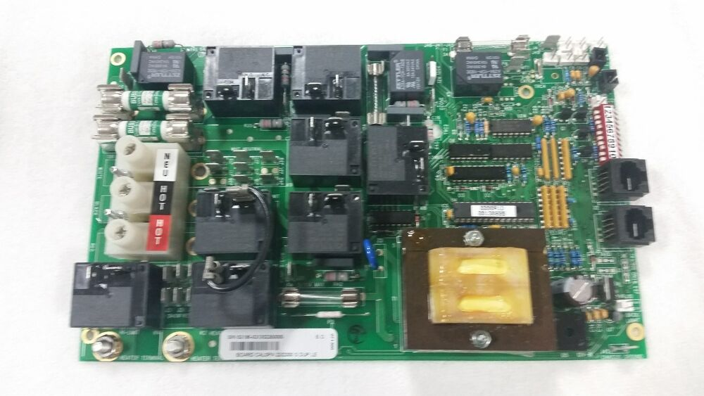 Cal Spa Circuit Board S N