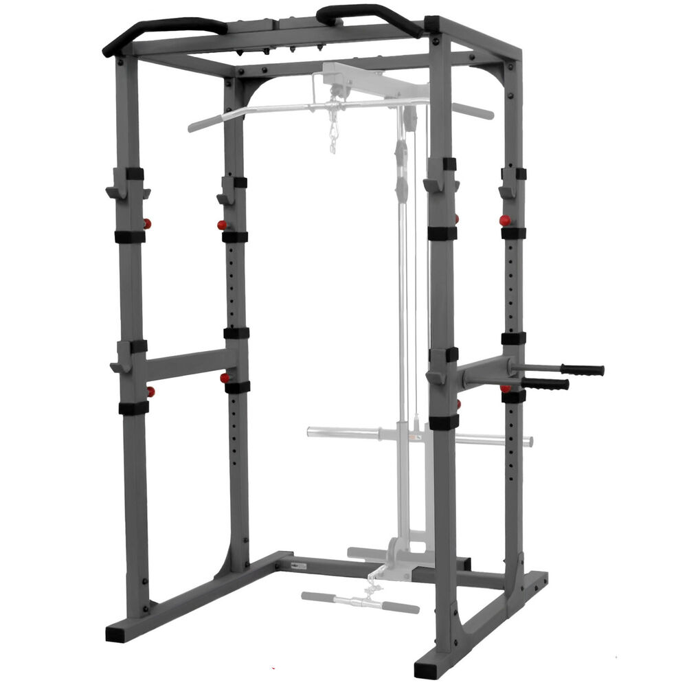 Xmark Power Cage With Dip Station And Pull Up Bar Xm 7620