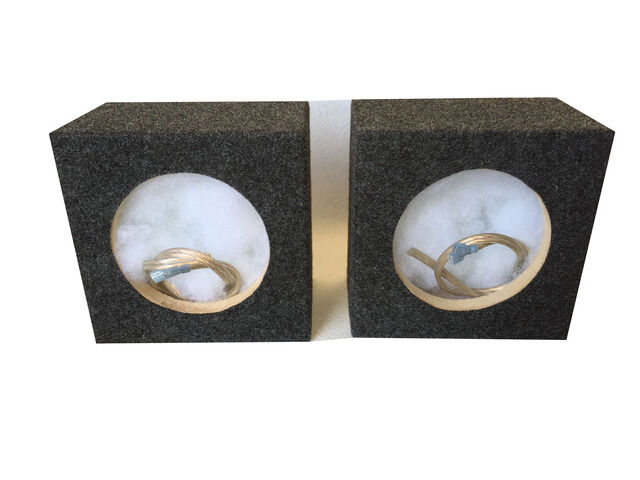 """Zenclosures 6.50/"""" 6.75/"""" Speaker Box Boxes With// 5.625/"""" diameter mounting hole"""