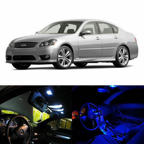 2007 Infiniti M Interior: 10 X LED Full Interior Lights Package Deal For 2006-2010