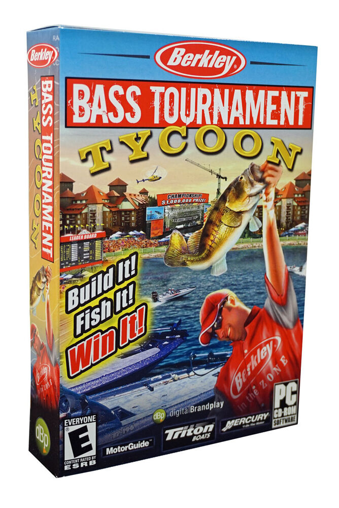 Berkley bass tournament tycoon fishing pc game build it for Fishing tournament games