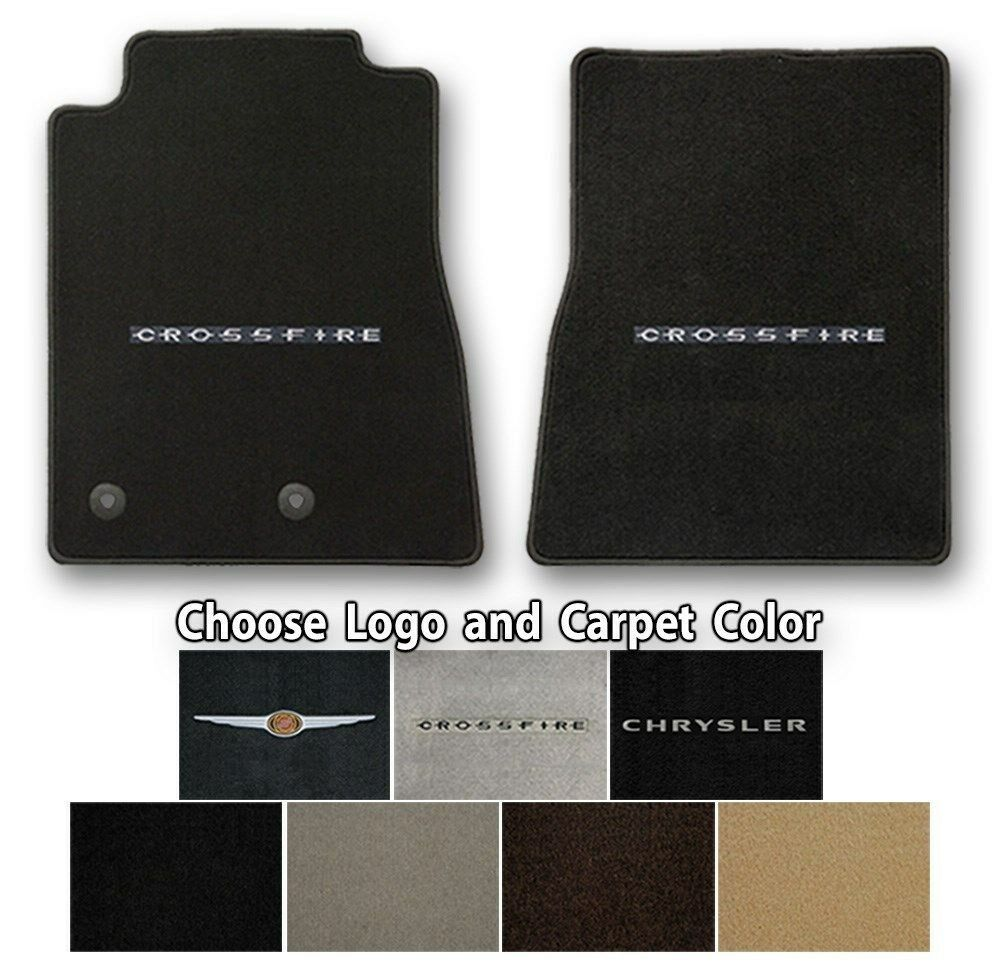 Chrysler Crossfire Velourtex Carpet Floor Mats- Choice Of