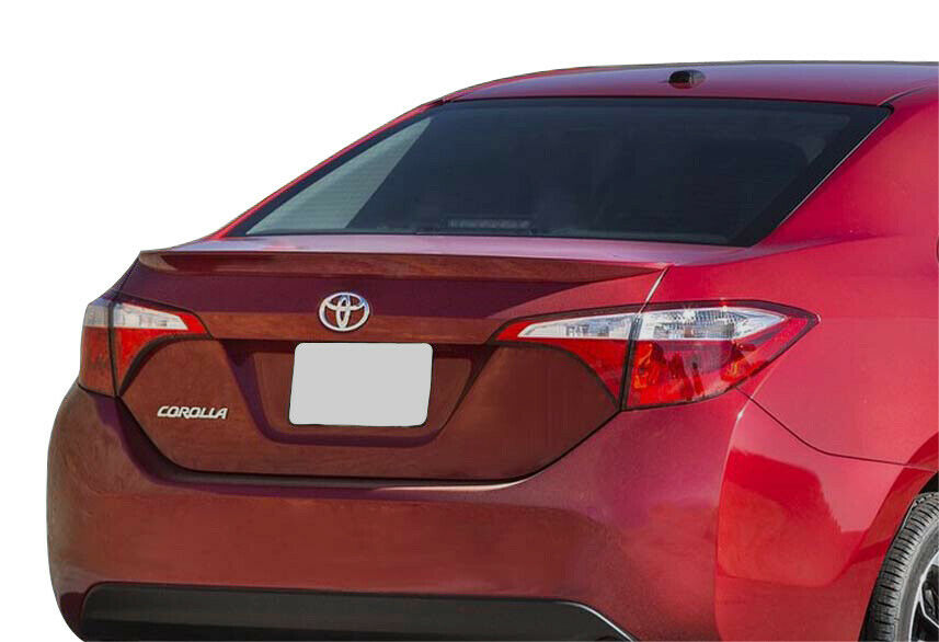 2014 2016 Toyota Corolla Painted Factory Style Rear Lip