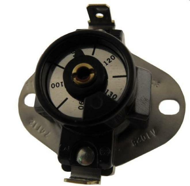 Supco AT021 Adjustable Thermostat 74T12 Style 310708 90