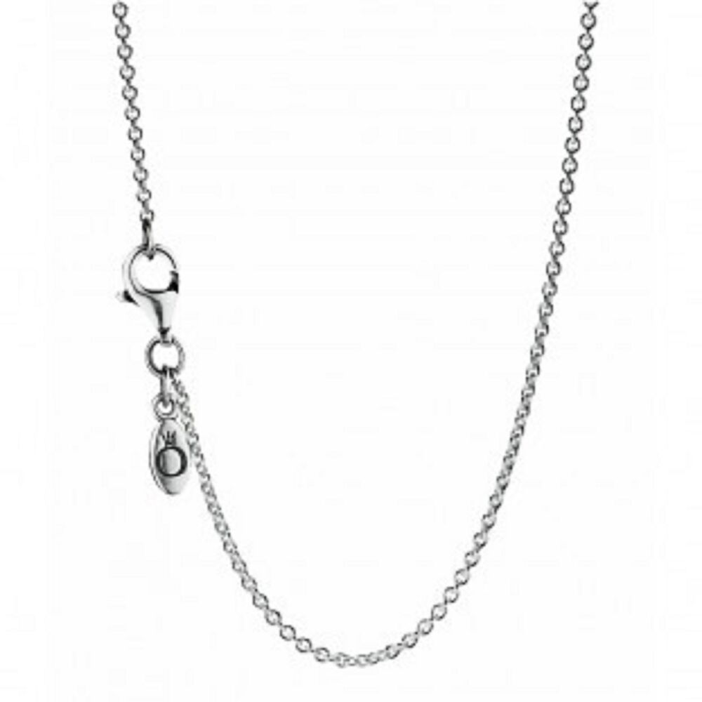 Pandora Silver Necklace 50cm: NEW! AUTHENTIC PANDORA NECKLACE STERLING SILVER CHAIN
