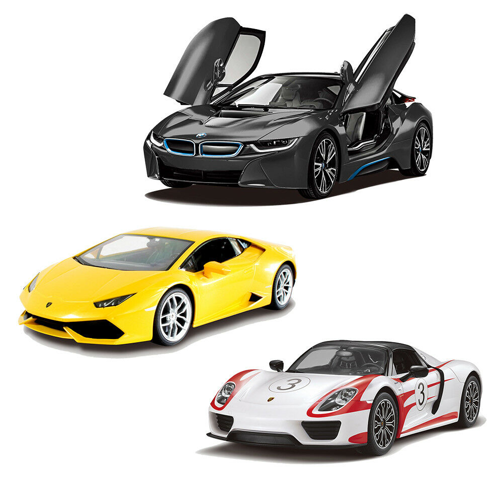 licensed bmw i8 lamborghini huracan porsche 918 spyder remote contol rc car ebay. Black Bedroom Furniture Sets. Home Design Ideas
