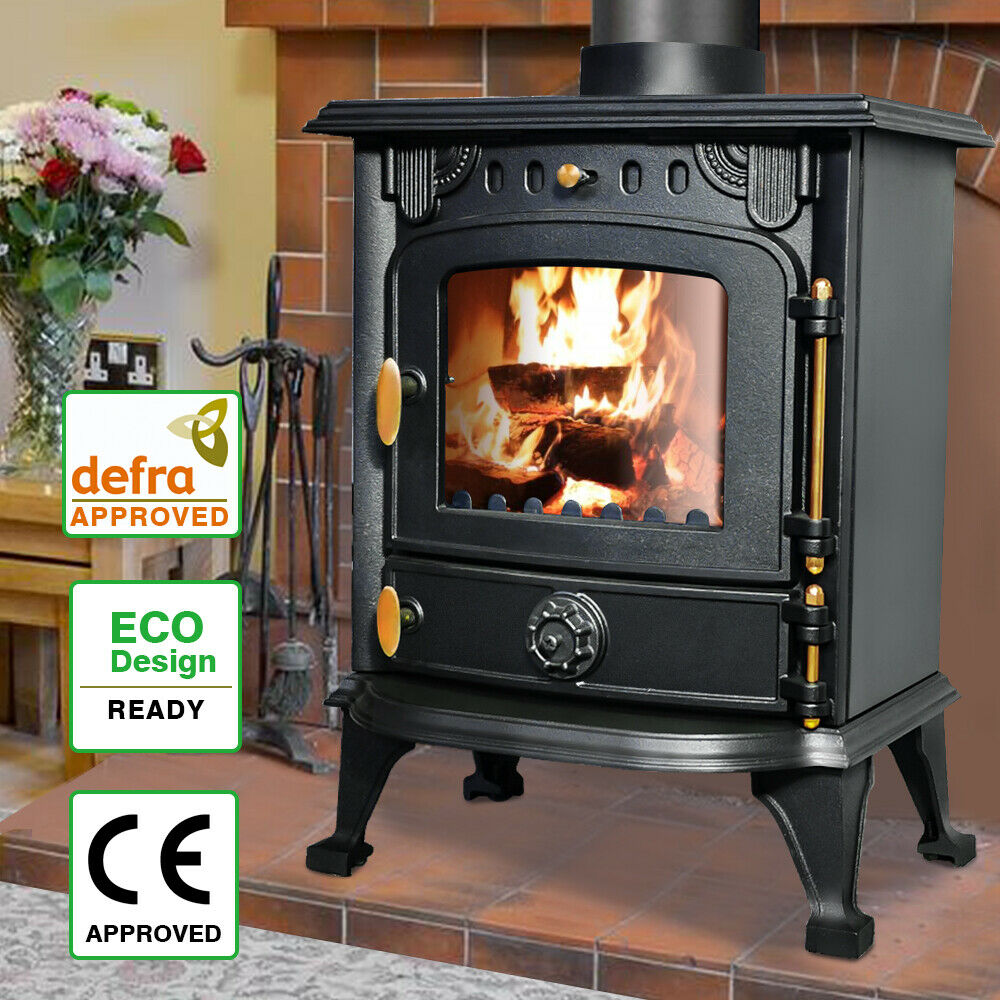 6 5kw Saxilby Multifuel Woodburner Stove Wood Burning