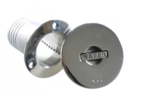 Tank Filler Quot Water Quot Stainless Steel 50mm Ebay