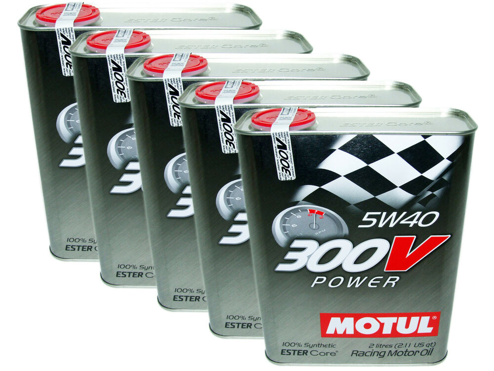 10l qt motul 300v 5w40 power racing 100 synthetic. Black Bedroom Furniture Sets. Home Design Ideas