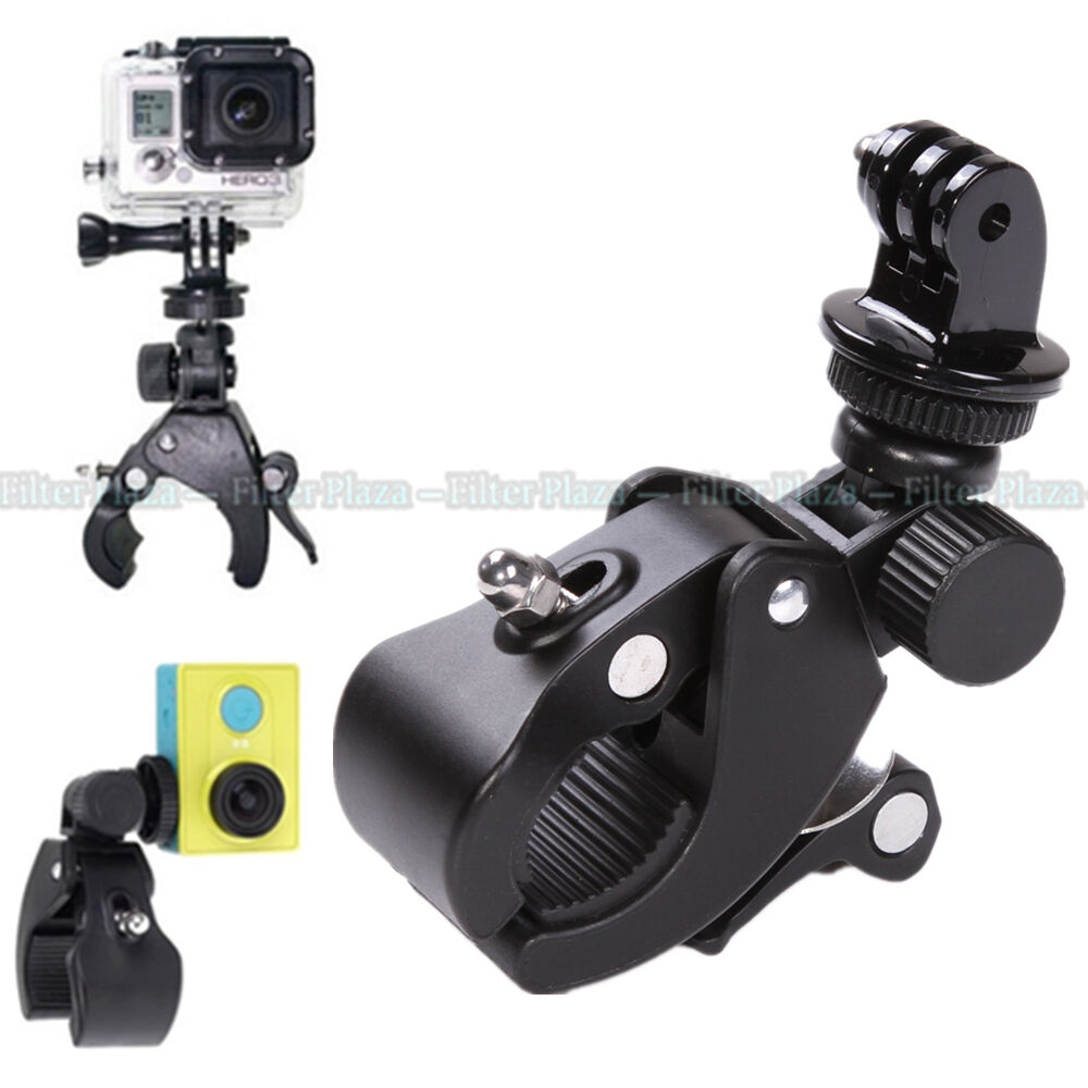 Gopro Roll Bar Mount >> Handlebar Clamp Roll Bar Mount Tripod Adapter For Gopro Hero 2 3 4