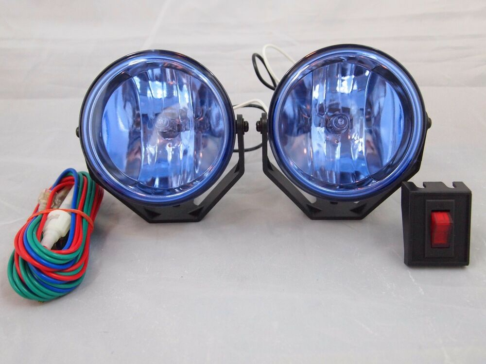 Universal 3 Quot 12v H3 55w Round Fog Lights Driving Lamps Kit