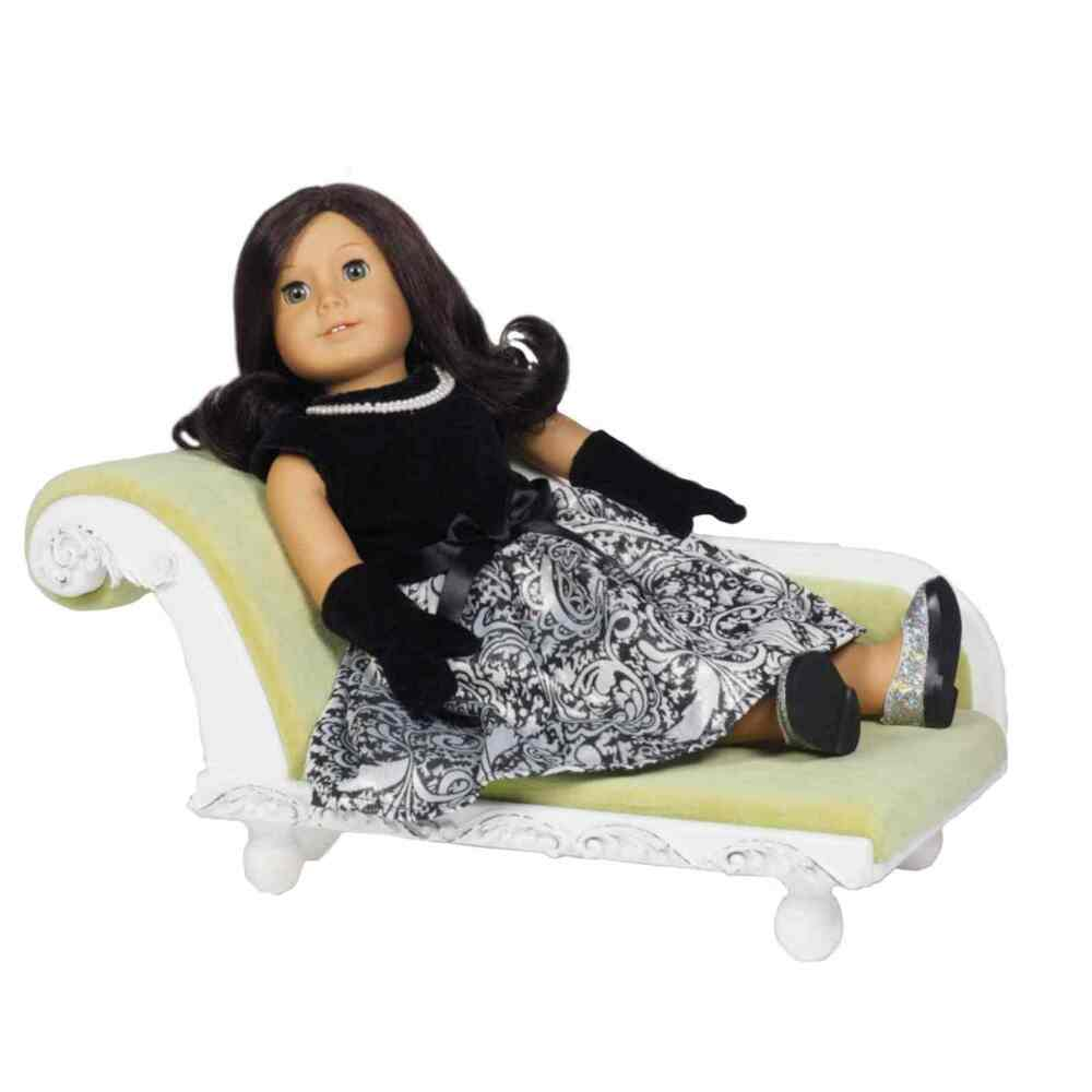 18 Quot Doll Victorian Fainting Couch Living Room Sofa Fits