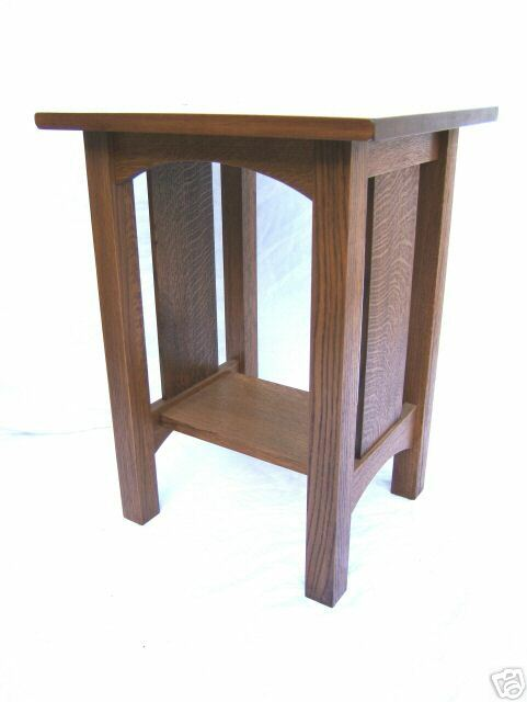 Arts And Crafts Style Night Stand