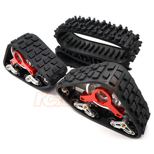 Xtra Speed Tanky All Terrain Tracks Red EP Axial SCX10