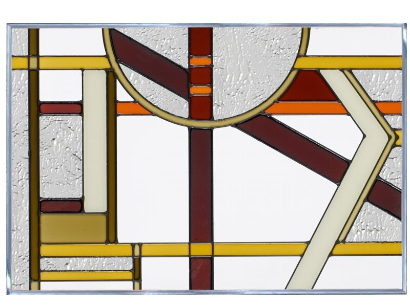 how to make brown stained glass