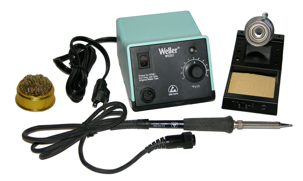 weller wes51 analog soldering station with htazd10w2