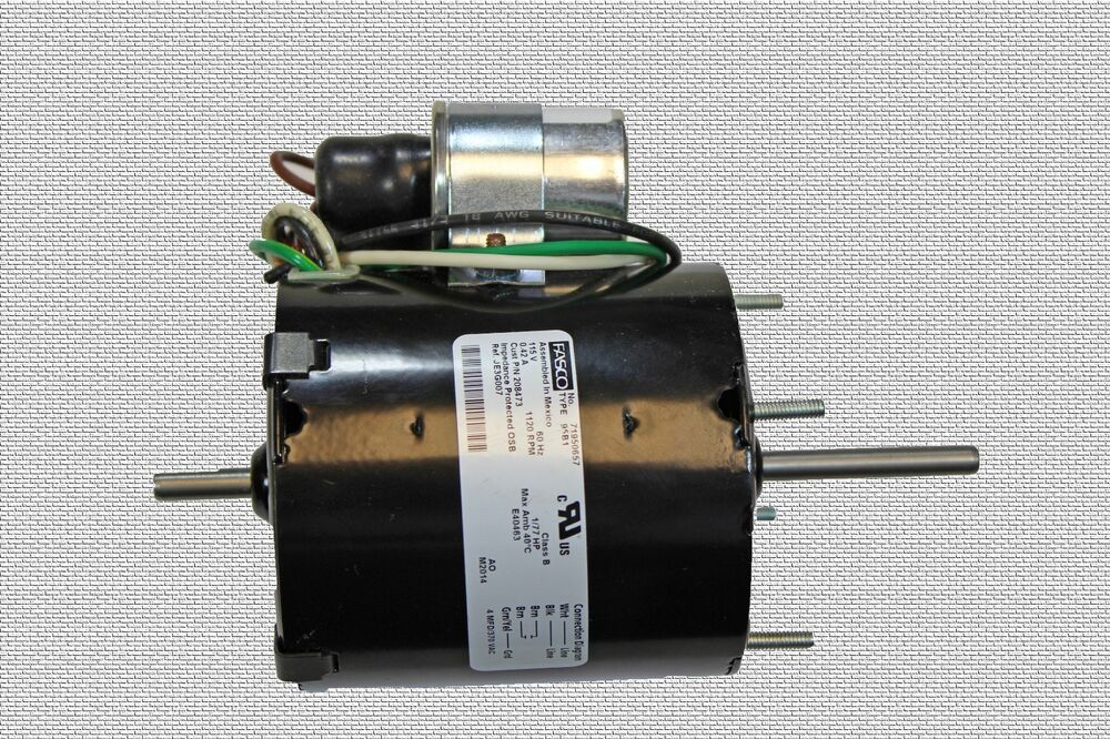Waste oil heater parts reznor belt drive pump motor 208473 for Used motor oil heaters