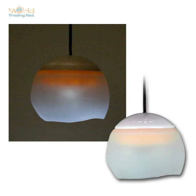 led h ngelampe lampe leuchte laterne zelt pavillon camping lampion zeltlampe ebay. Black Bedroom Furniture Sets. Home Design Ideas