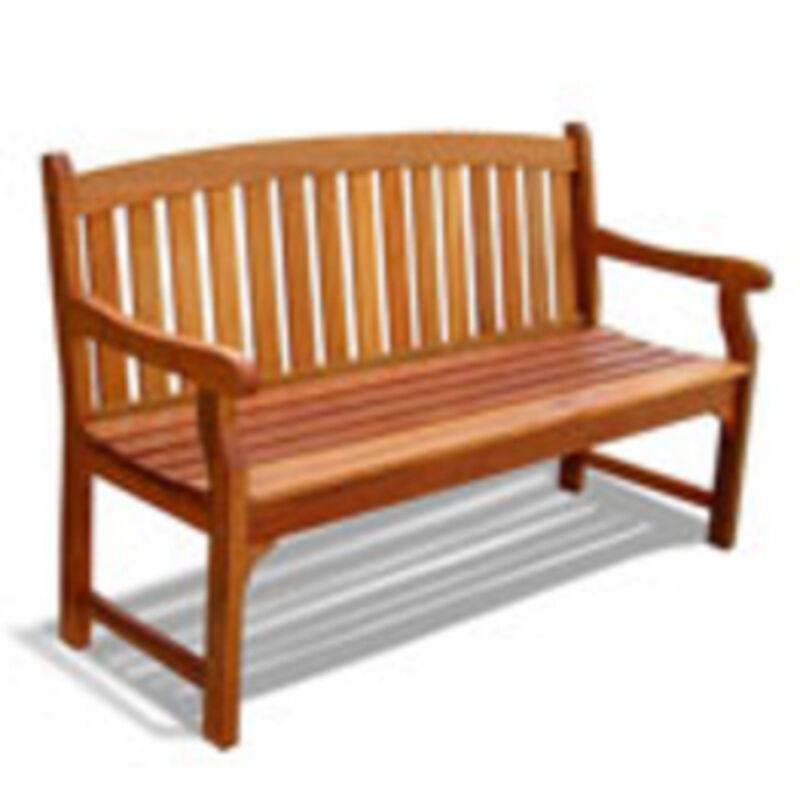 Vifah Outdoor Wood Bench V275 Bench New Ebay