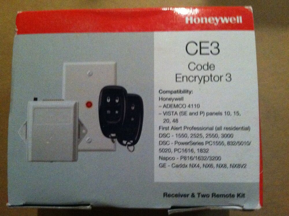 Honeywell Ce3 Code Encryptor 3 With 2 Remotes New Ebay
