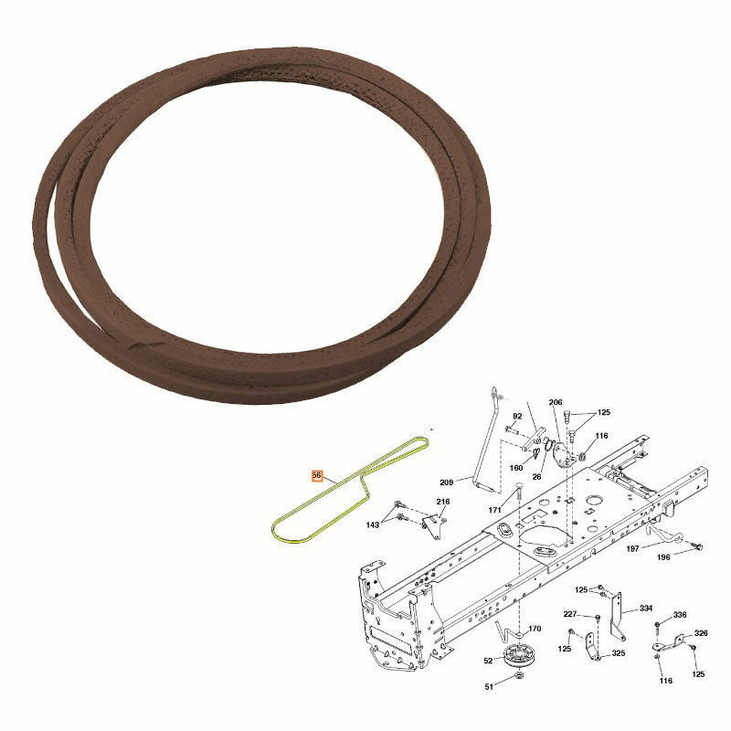 28 Husqvarna Mower Drive Belt Diagram