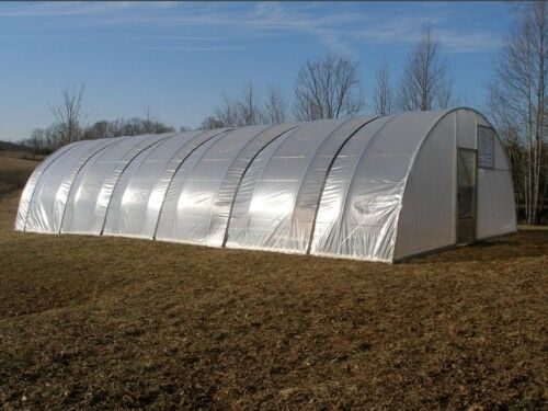 16 x 48 ft quonset greenhouse kit hoop house cold. Black Bedroom Furniture Sets. Home Design Ideas