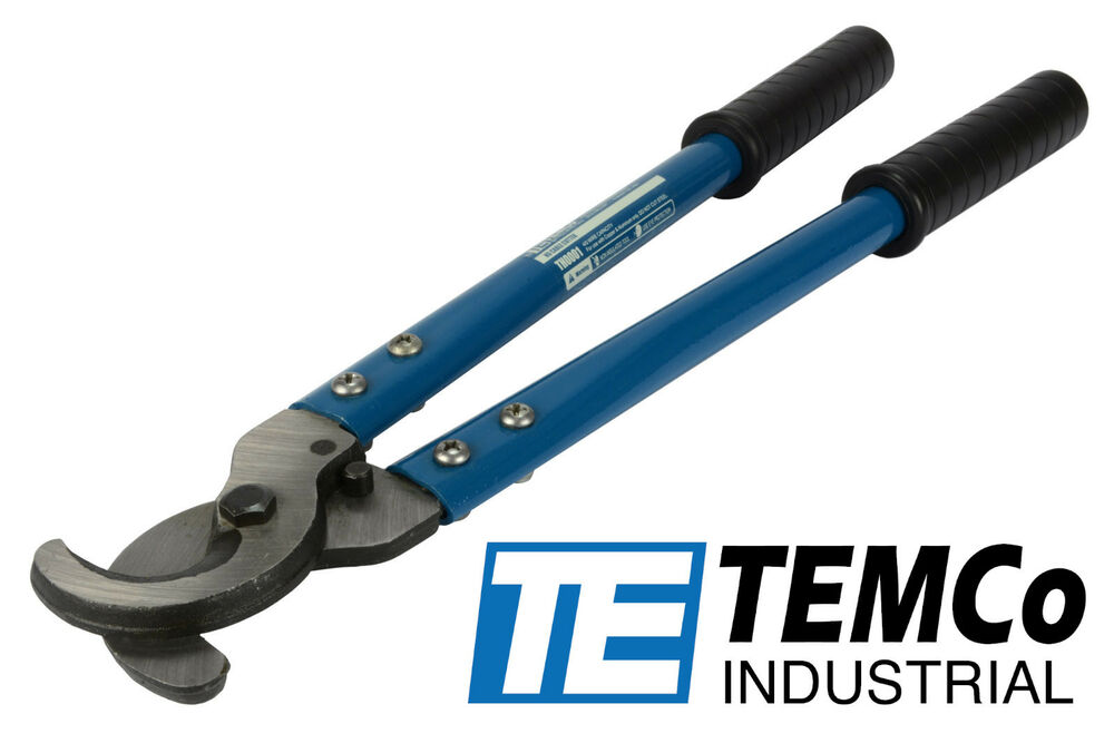 Electric Cable Cutters : Temco heavy duty quot ga wire cable cutter electrical